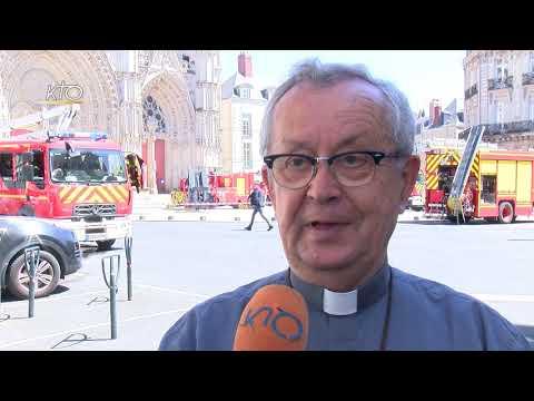 Après l'incendie, le recteur de la cathédrale de Nantes se confie