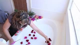 Milk Bath Maternity Session & Tutorial - Behind The Scenes On Milk Bath