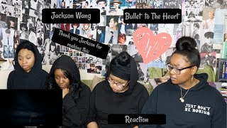 JACKSON WANG BULLET TO THE HEART REACTION