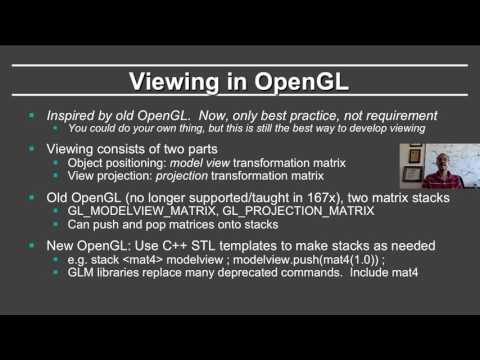Online Graphics Course: OpenGL 1: Buffers and Matrices (OpenGL ...
