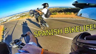 RIDING 2 STROKE DIRTBIKES IN SPAIN!!