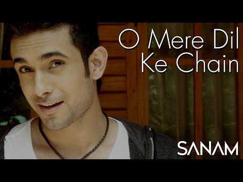 O mere dil ke chain with lyrics | ओ मेरे दिल के चैन.