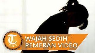 Raut Wajah Sedih Gadis Pemeran Video Syur Berdurasi 30 Detik saat Diperiksa Polisi bersama Muncikari