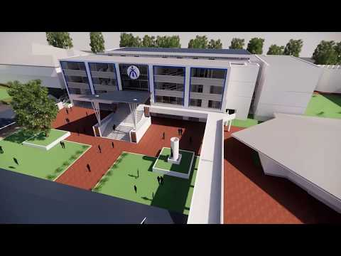 Newman College Learning Hub - Architectural Fly Through