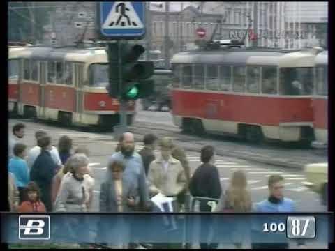 Эстония. 100 лет таллинскому трамваю 25.08.1987