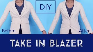How To Take In Jacket/Blazer