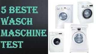 5 Beste Waschmaschine Test 2021