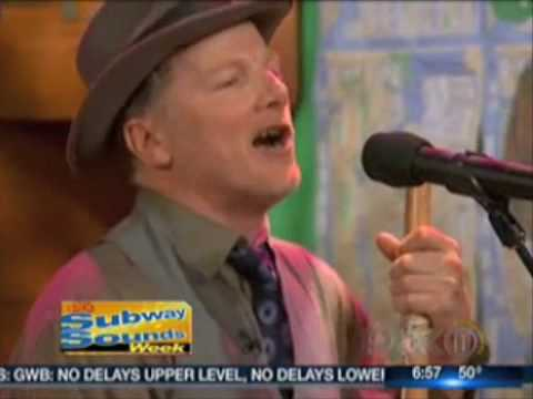 The Baby Soda Jazz band on the WPIX11 Morning News, 5/6/09