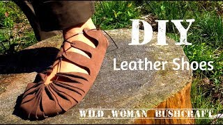 Easy DIY Leather Shoes