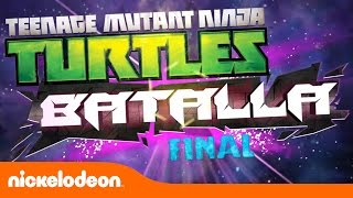 "Las Tortugas Ninja | Juega con ""Batalla Final"" | TMNT | Nickelodeon en Español"