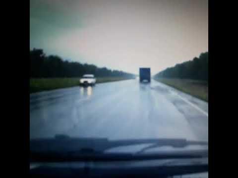 Массовое ДТП из-за мокрого асфальта в Ростовской области