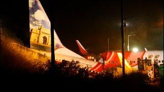 video: Air India Express flight from Dubai crashes at Calicut airport, killing 16
