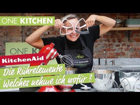 KitchenAid Rührelemente - Welches benutze ich wofür? | by One Kitchen