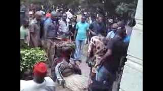 preview picture of video 'Obata - Agbalanze Day2012 Inyi Masquerade (mmanwu)'