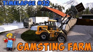 Farming Simulator 17 | Gamsting Farm with Seasons | Timelapse #31