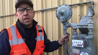 How to tell if you have a gas leak by looking at the meter
