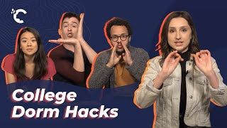 youtube video thumbnail - College Dorm Hacks!