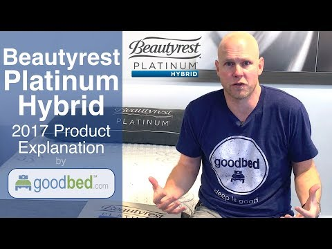 Beautyrest PLATINUM HYBRID Mattress Options Explained by GoodBed (VIDEO)