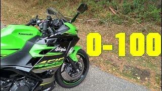 2018 Kawasaki Ninja 400 0 100 KMH   0 60 MPH