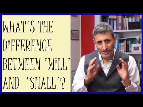 Difference between 'will' and 'shall'