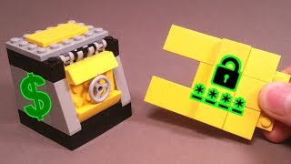 Как сделать из Лего Карточный Сейф