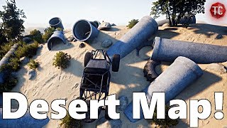 Pure Rock Crawling: NEW MAP! Desert/Pipe Crawling