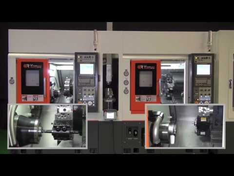 Victor Tachung Vturn NP16 and NP 16CM with gantry robot for unmanned operation