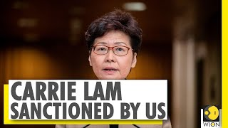 United States sanctions Hong Kong's chief executive Carrie Lam | World News | WION