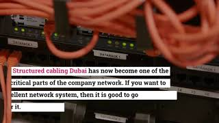 How to Install and Maintain Structured Cabling Services?
