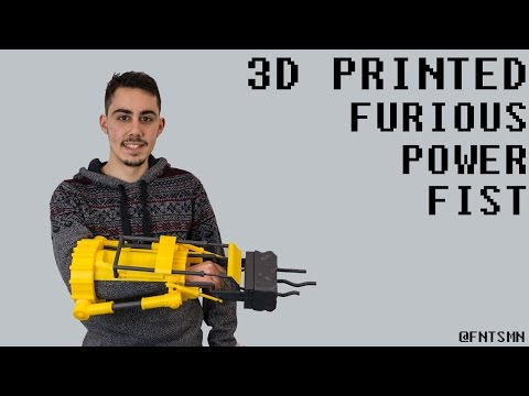 Check Out This Print-Your-Own 3D Furious Power Fist From Fallout 4!