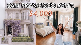 What $4,000 Gets You In San Francisco, CA | My Victorian Apartment Tour