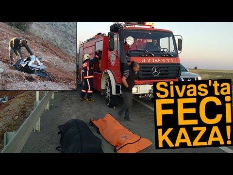 Kangal'da Trafik Kazası! Yolcu Otobüsü İle Ticari Araç Çarpıştı: 2 Ölü