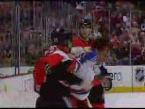 Jason Strudwick vs Chris Neil