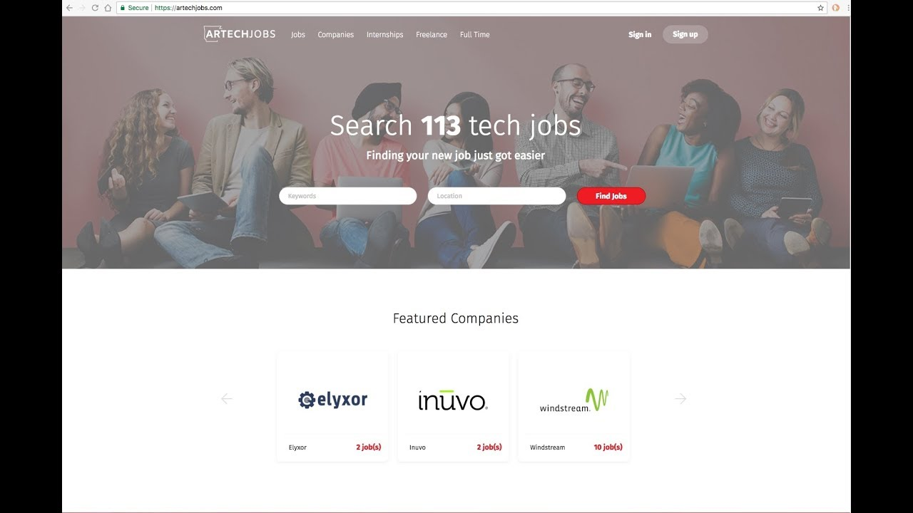 ArTechJobs.com Announcement