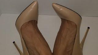 Nude Classic High Heel Pumps