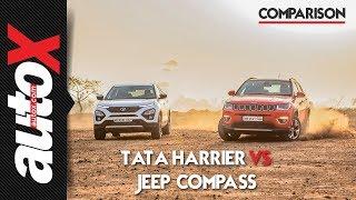 Tata Harrier vs Jeep Compass | Comparison | autoX