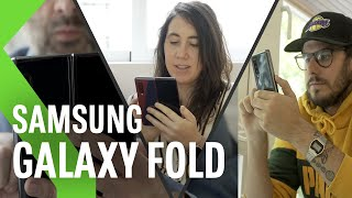 Samsung Galaxy Fold, Review: 5 EXPERIENCIAS MUY DIFERENTES