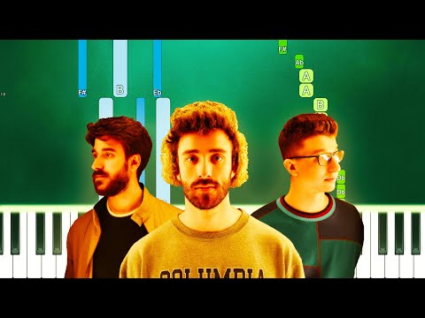 AJR - Bang! (Piano Tutorial Easy) By MUSICHELP