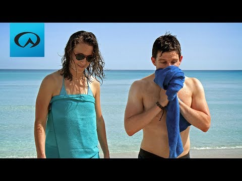 Lifeventure Travel Towel Video
