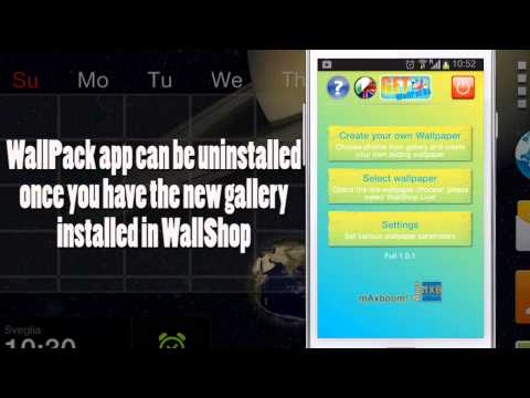 Video of WallShop Wallpaper Creator