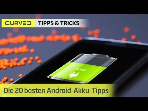 Strom sparen: Die besten Akku-Tipps für Android-Smartphones