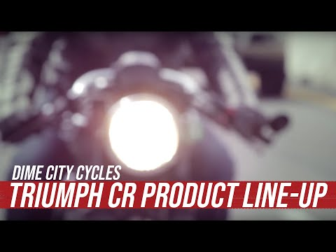 The Dime City Triumph CR Product Line-up