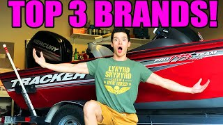 TOP 3 Brands of Aluminum Boats! (Watch Before Buying!)
