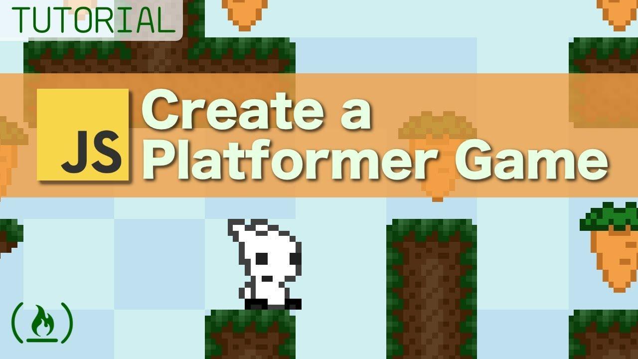 Platformer Game Tutorial using JavaScript