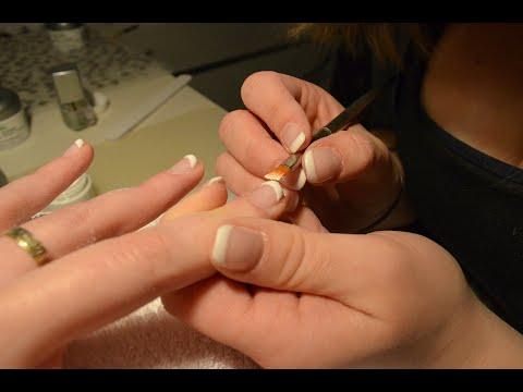 unhas em gel com tips e Alongamento - Passa a Passo (FCIL E RAPIDO )
