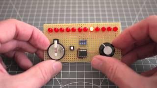 Adafruit Huzzah 42 Charlieplex LED Grid Arduino
