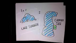 Is Lake Superior or the Caspian Sea the largest lake? [] TwoLambdaPlusBlack