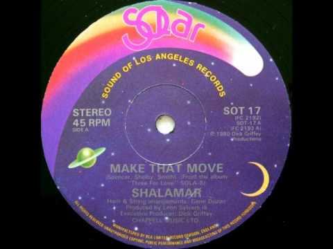Shalamar - Make That Move (Original 12'' Version)