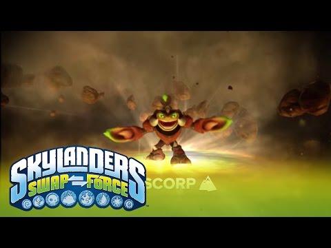Видео № 0 из игры Фигурка Skylanders Swap Force: Scorp