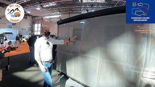 Weltneuheit von WIGO Zelte auf dem Caravan Salon 2020